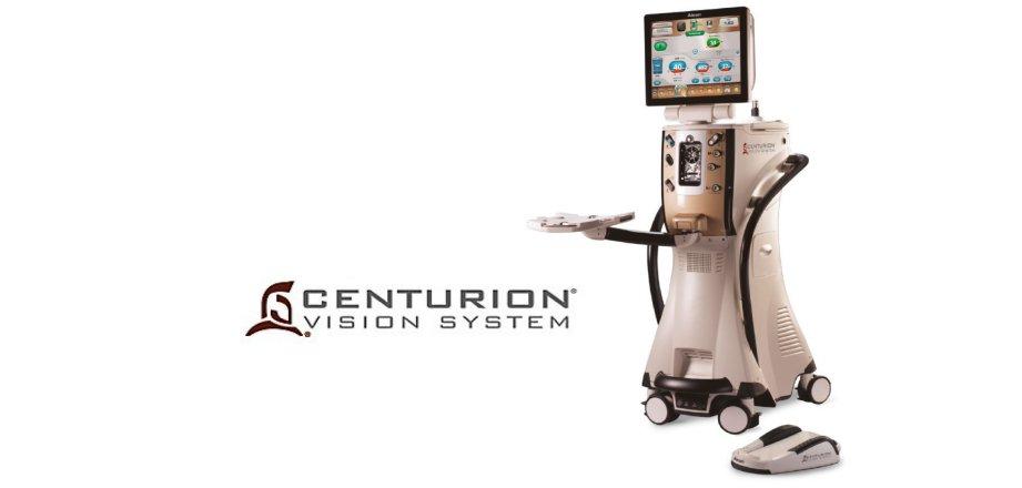 11 Février 2019: Acquisition d'un CENTURION Vision System pour la chirurgie de la cataracte